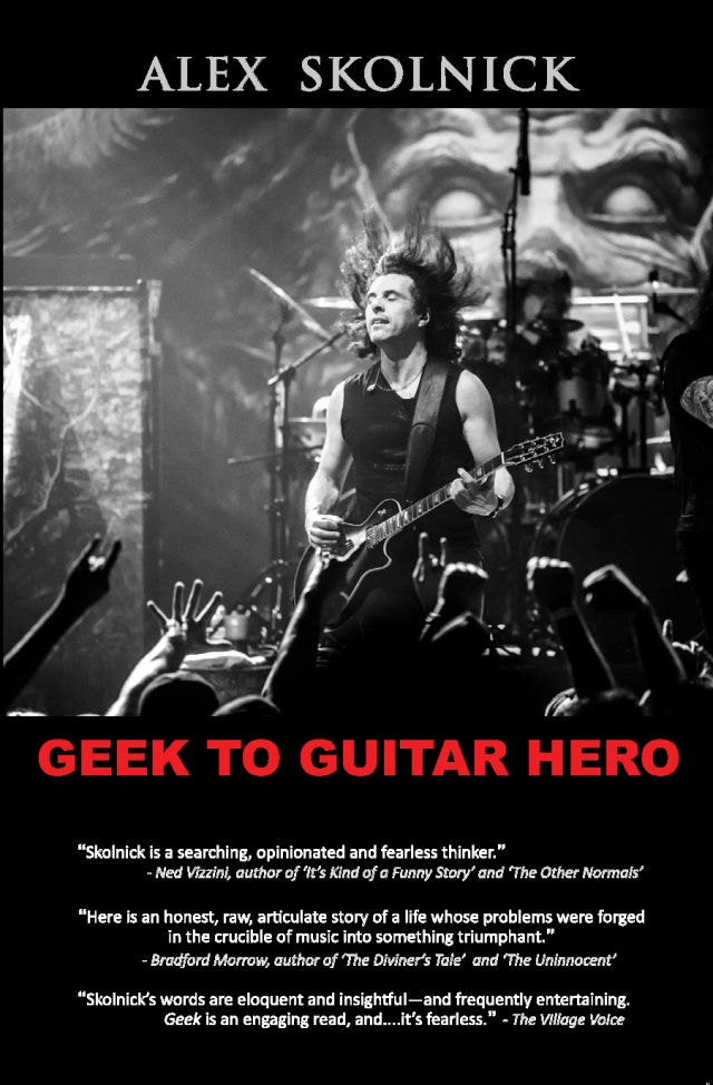 Geek to Guitar Hero Front Cover