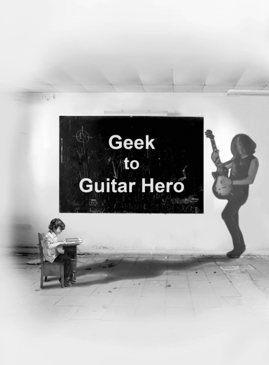 Geek to Guitar Hero 'The Shadow in the classroom'