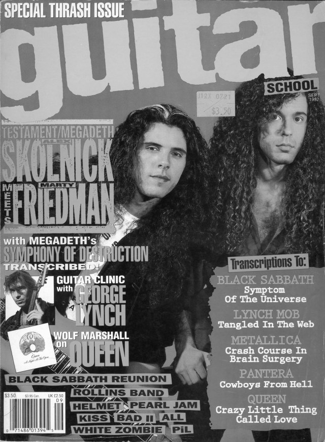 Alex Skolnick & Marty Friedman